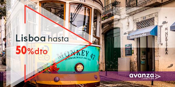 Viaja a Lisboa con hasta 50% de descuento