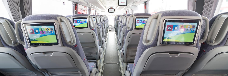 Avanza discrecional, Alquilar tu autobús, minibús, autocar