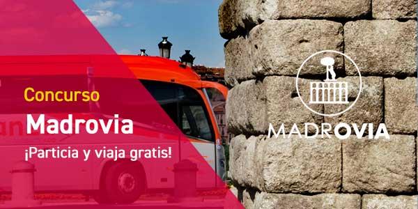 Madrovia. Participa y viaja gratis