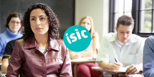 30% de descuento para los socios de ISIC