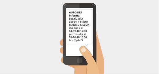 localizador vía SMS