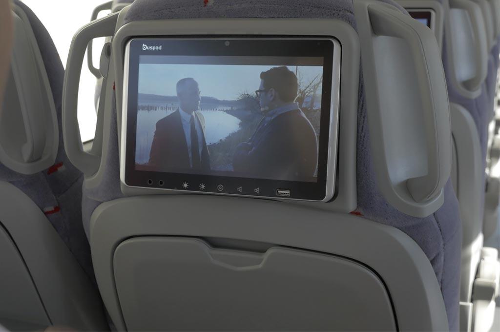 pantalla multimedia individual