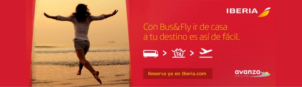 Con Bus&Fly ir de casa a tu destino es así de fácil