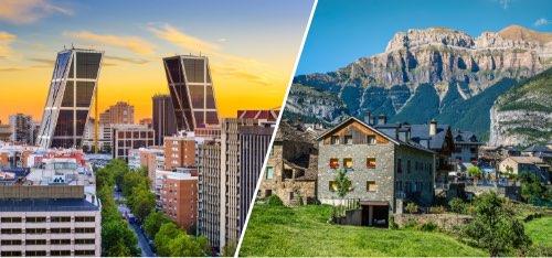 Madrid – Pirineo Aragonés (Biescas, Panticosa, Formigal)