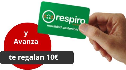 Avanza te regala 10€ para darte un respiro
