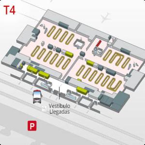 plano terminal 4 barajas