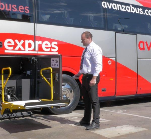 Pasajeros con movilidad reducida