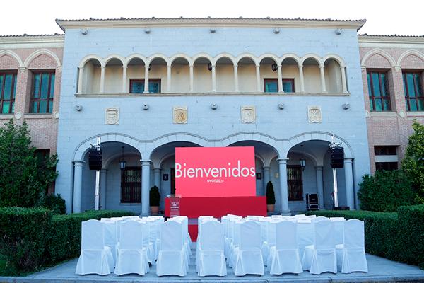Preparativos acto presentación Madrovia