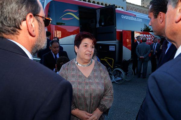 D.ª Clara Luquero - Alcaldesa de Segovia