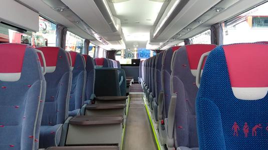 Contrata tu autobús. Alquiler de autobuses